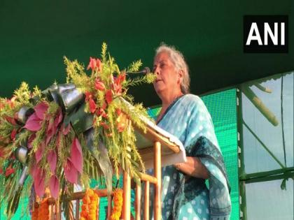 Sitharaman inaugurates 11 developmental projects in Tripura, promises Rs 1,300 cr for development of tribal areas   Sitharaman inaugurates 11 developmental projects in Tripura, promises Rs 1,300 cr for development of tribal areas