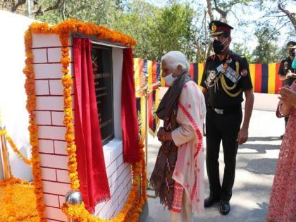 'Captain Sanjay Chauhan Dwar' inaugurated at military station at Himachal Pradesh's Solan   'Captain Sanjay Chauhan Dwar' inaugurated at military station at Himachal Pradesh's Solan