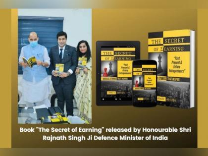 "Defence Minister of India releases new-gen entrepreneurship Bible ""The Secret of Earning"" | Defence Minister of India releases new-gen entrepreneurship Bible ""The Secret of Earning"""