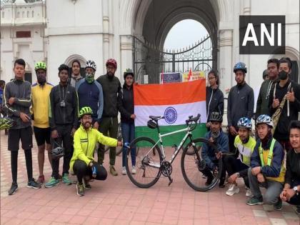 Tripura: Cycle rally to mark birth anniversary of Subhas Chandra Bose | Tripura: Cycle rally to mark birth anniversary of Subhas Chandra Bose