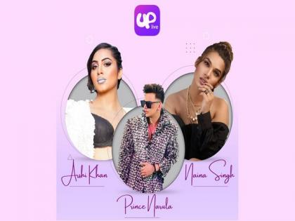 Connecting with fans worldwide, Uplive app has got some Indian entertainment industry stars | Connecting with fans worldwide, Uplive app has got some Indian entertainment industry stars