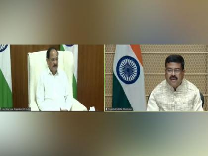 Vice-President calls upon India to be 'Vishwagurus in Education' at World Universities Summit | Vice-President calls upon India to be 'Vishwagurus in Education' at World Universities Summit