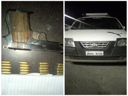 2 UP men held with pistol, ammunition in J-K's Kulgam | 2 UP men held with pistol, ammunition in J-K's Kulgam