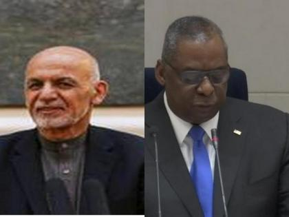 US Defence Secy meets Ashraf Ghani, says enduring peace is main solution to Afghan conflict   US Defence Secy meets Ashraf Ghani, says enduring peace is main solution to Afghan conflict