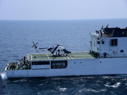 HAL's Advanced Light Helicopter Dhruv demonstrates deck operations capabilities in ship-borne trials   HAL's Advanced Light Helicopter Dhruv demonstrates deck operations capabilities in ship-borne trials