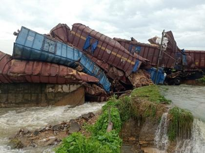 Odisha: Nine wagons capsized, one derailed on Angul-Tacher Road, restoration work ongoing | Odisha: Nine wagons capsized, one derailed on Angul-Tacher Road, restoration work ongoing