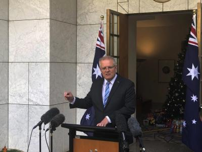 Australian PM's car vandalised by rights activists | Australian PM's car vandalised by rights activists