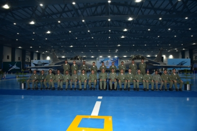 IAF formally inducts Rafale aircraft into 101 Squadron at Hasimara   IAF formally inducts Rafale aircraft into 101 Squadron at Hasimara