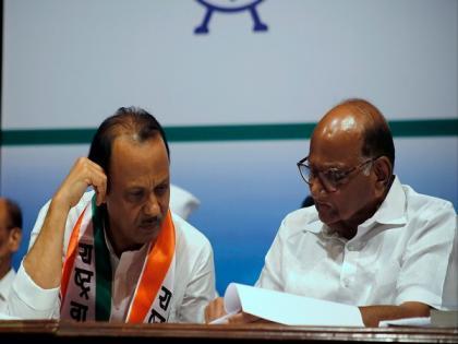 I am in NCP, Pawar Saheb is our leader: Dy CM Ajit Pawar   I am in NCP, Pawar Saheb is our leader: Dy CM Ajit Pawar