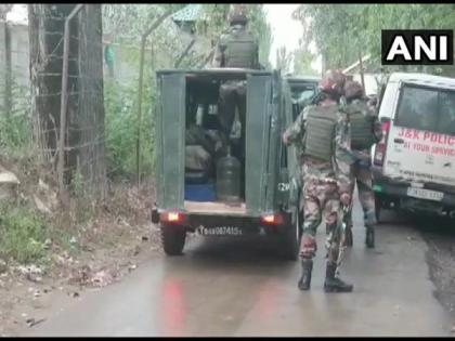 Three terrorists killed by security forces in encounter at J-K's Baramulla   Three terrorists killed by security forces in encounter at J-K's Baramulla