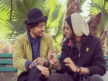Irrfan Khan's son Babil criticises scribes who asked if 'he was high' at Filmfare Awards | Irrfan Khan's son Babil criticises scribes who asked if 'he was high' at Filmfare Awards