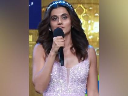 Taapsee Pannu thanks co-nominees in her award-winning speech at Filmfare   Taapsee Pannu thanks co-nominees in her award-winning speech at Filmfare