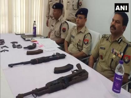 Weapons recovered in Assam's Kokrajhar ahead of Assembly polls | Weapons recovered in Assam's Kokrajhar ahead of Assembly polls