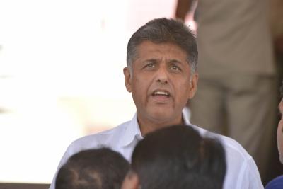 Manish Tewari gives adjournment notice to discuss Pegasus project | Manish Tewari gives adjournment notice to discuss Pegasus project
