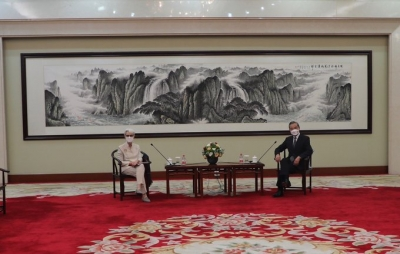 Chinese FM, US Deputy State Secy discuss responsible management of ties   Chinese FM, US Deputy State Secy discuss responsible management of ties