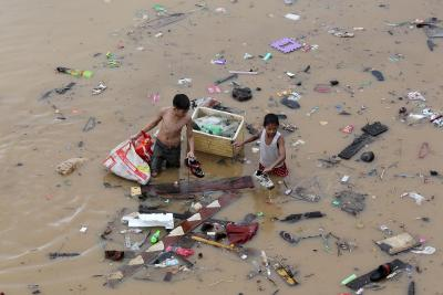 Tropical storm leaves 8 dead in Philippines   Tropical storm leaves 8 dead in Philippines