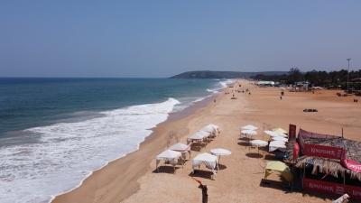 Tar balls on beaches, Goa to write to Centre on marine pollution | Tar balls on beaches, Goa to write to Centre on marine pollution