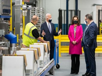 We're going to beat COVID-19, says Biden after visiting Pfizer vaccine manufacturing plant   We're going to beat COVID-19, says Biden after visiting Pfizer vaccine manufacturing plant