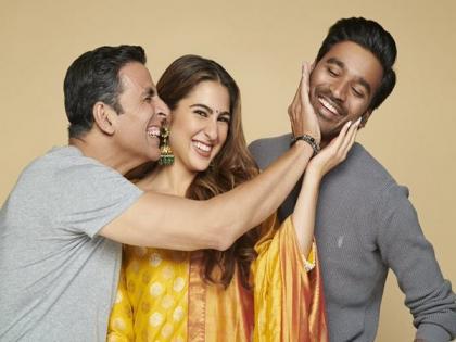 Akshay Kumar, Sara Ali Khan extend birthday wishes to 'Atrangi Re' co-star Dhanush | Akshay Kumar, Sara Ali Khan extend birthday wishes to 'Atrangi Re' co-star Dhanush