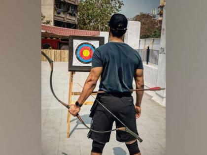 Vicky Kaushal practices archery for 'The Immortal Ashwatthama'   Vicky Kaushal practices archery for 'The Immortal Ashwatthama'