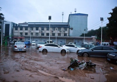 Death toll from heavy rains in China reaches 33   Death toll from heavy rains in China reaches 33