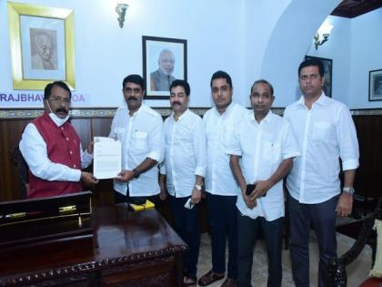 Goa Forward Party meets Governor, urges him not to give assent to bills passed in Assembly | Goa Forward Party meets Governor, urges him not to give assent to bills passed in Assembly
