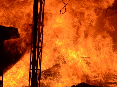 Fire breaks out in Chennai, quick action saved several lives   Fire breaks out in Chennai, quick action saved several lives