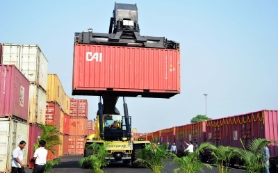 India's August exports rise by over 45%   India's August exports rise by over 45%