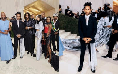 Hamilton courts controversy by supporting 'Black creatives' in Met Gala | Hamilton courts controversy by supporting 'Black creatives' in Met Gala