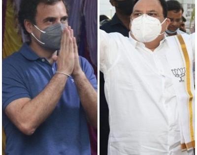 Who is he? Is he my professor: Rahul Gandhi on JP Nadda   Who is he? Is he my professor: Rahul Gandhi on JP Nadda