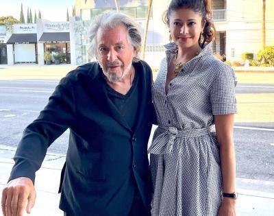 Pooja Batra Shah meets 'legend' Al Pacino   Pooja Batra Shah meets 'legend' Al Pacino