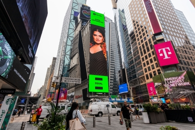 Sona Mohapatra first Indian independent musician to make it to Times Square billboard | Sona Mohapatra first Indian independent musician to make it to Times Square billboard