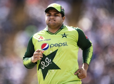 Pakistan's Azam Khan ruled out of two T20Is against West Indies   Pakistan's Azam Khan ruled out of two T20Is against West Indies