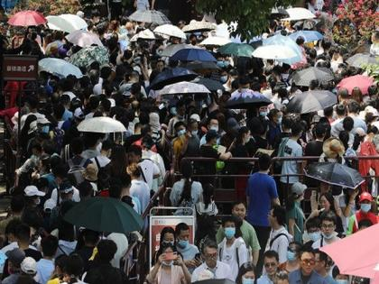 China's population reaches 1.41 billion, grows by 5.38 pc in 10 years | China's population reaches 1.41 billion, grows by 5.38 pc in 10 years