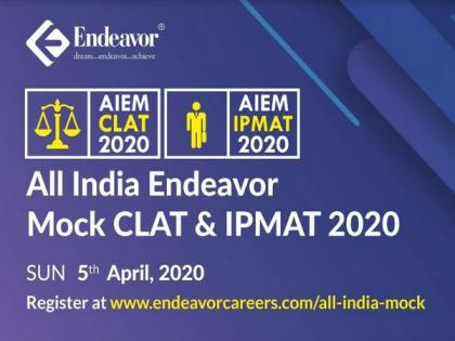 Endeavor conducts the biggest online all India open mock CLAT and IPMAT 2020   Endeavor conducts the biggest online all India open mock CLAT and IPMAT 2020