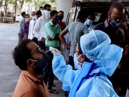 3,177 new COVID-19 cases, 55 deaths in last 24 hours in Nagpur | 3,177 new COVID-19 cases, 55 deaths in last 24 hours in Nagpur