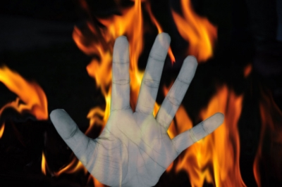 Man, 3 kids burnt alive as fire engulfs house in Himachal village   Man, 3 kids burnt alive as fire engulfs house in Himachal village