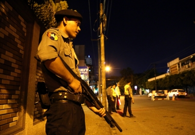 Attack on convoy in Myanmar kills 12   Attack on convoy in Myanmar kills 12