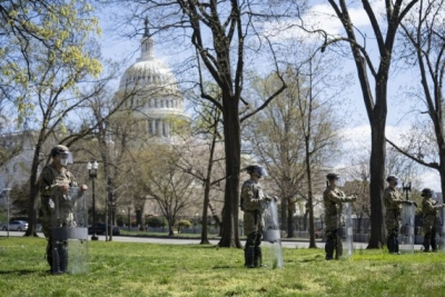 Peaceful right-wing rally near US Capitol amid high police alert | Peaceful right-wing rally near US Capitol amid high police alert