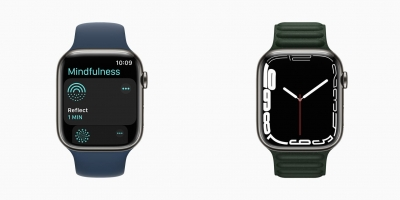 Apple unveils Watch Series 7 with redesigned display, new features   Apple unveils Watch Series 7 with redesigned display, new features