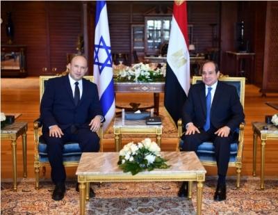 Egyptian Prez, Israeli PM discuss bilateral ties, Palestine | Egyptian Prez, Israeli PM discuss bilateral ties, Palestine