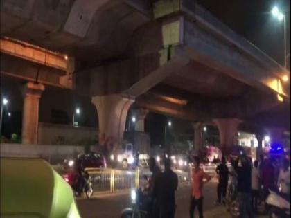 Bengaluru: Two fall to death as car hits bike on flyover   Bengaluru: Two fall to death as car hits bike on flyover