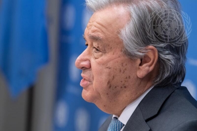 Guterres asks for transition from coal to renewable energy | Guterres asks for transition from coal to renewable energy