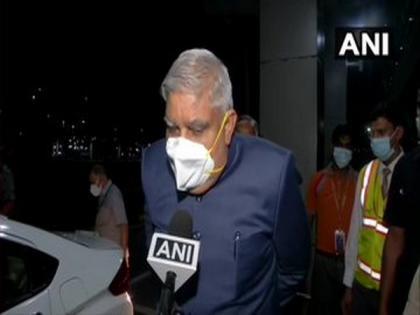 Dhankhar arrives in New Delhi, targets WB govt over post-poll retributive violence   Dhankhar arrives in New Delhi, targets WB govt over post-poll retributive violence