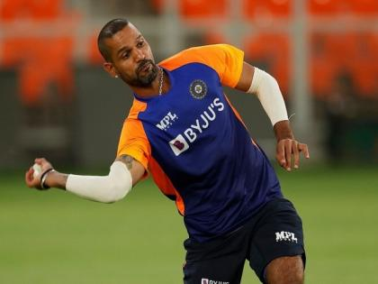 Ind vs Eng: Dhawan sweats it out in training ahead of first T20I | Ind vs Eng: Dhawan sweats it out in training ahead of first T20I