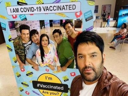 'The Kapil Sharma Show' team receives COVID-19 vaccine   'The Kapil Sharma Show' team receives COVID-19 vaccine