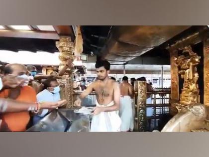 Kerala: Dharmasastha Temple of Sabarimala reopens for devotees   Kerala: Dharmasastha Temple of Sabarimala reopens for devotees