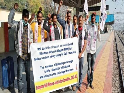 Chalo Delhi for repeal of circulars reducing minimum wages for Gulf workers | Chalo Delhi for repeal of circulars reducing minimum wages for Gulf workers