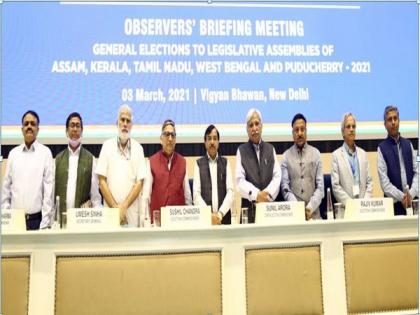 ECI organizes briefing meeting of observers for upcoming Assembly Elections   ECI organizes briefing meeting of observers for upcoming Assembly Elections