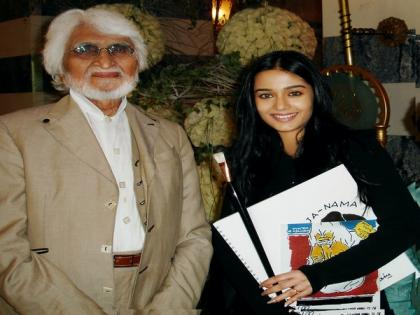 Amrita Rao remembers legendary MF Husain's special gift to her on his 106th birth anniversary | Amrita Rao remembers legendary MF Husain's special gift to her on his 106th birth anniversary